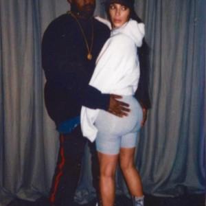 New Photos Of Kanye West Grabbing Kim Kardashian Big Butt Surfaces