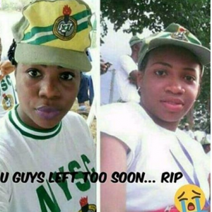 Two NYSC Members Confirmed Dead