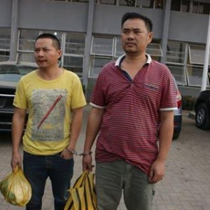 Photos: Nigeria Customs Service arraigns two Chinese Nationals in court for smuggling prohibited items