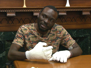 Ghanaian refugee to lose fingers and toe after 7-hour trek to cross US Border (Photos)