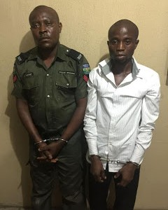 Photos: Rivers Police command arrest senior bank official and dismissed police officer involved in foiled robbery attack