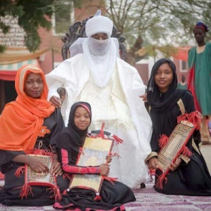 Photos: Emir of Kano's young daughter graduates from Quranic school