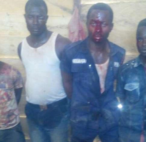 Police officers arrested for attempting to rob gold miners in Ghana