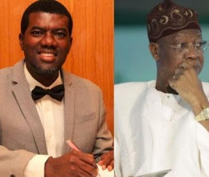 As Lai Mohammed manifests the lie in his name -by Reno Omokri