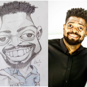 Checkout this fan's artwork of Basketmouth