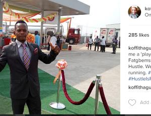Comedian Koffi Buys Petrol Station