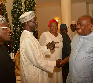 Photos: Former ministers visits Nyesom Wike