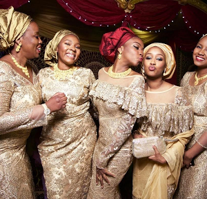 Stunning photos of the Indimi women at Mustapha and Fatima's wedding