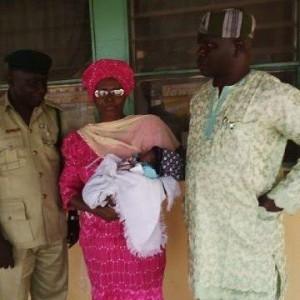 Photo: Awaiting trial inmate gives birth in Oke Kura Prison, Ilorin, Kwara State
