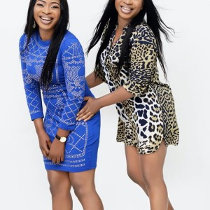 Nollywood Actresses, The Aneke Twins Dazzles In New Photos