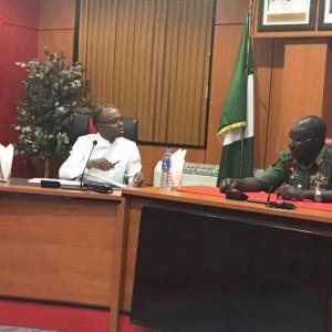PHOTOS: Governor El-Rufai Visits Nigerian Army Headquarters