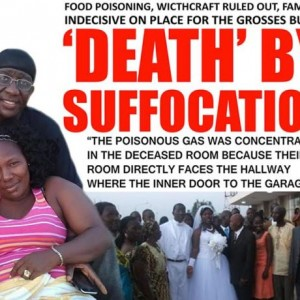 US based Liberian couple allegedly killed by brother actually died as a result of Asphyxiation….