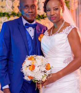 Photos Of 60 Year Old First Time Bride And Her Husband