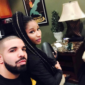 Nicki Minaj & Drake Reconcile (Photos)