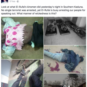 Grapic Photos: SEE What Fulani Herdsmen Allegedly Did To People In Kaduna