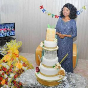 Photos From Bishop Oyedepo's Wife Birthday Celebration