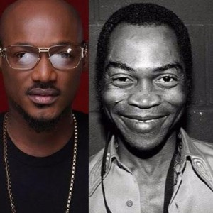Fela Was Beaten And Brutalised, 2face Gave Up On An Ordinary Threat – Nigerians Says
