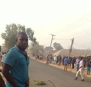 Photos: Alleged Thief Burnt To Death In Makurdi, Benue State