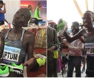 Kenyan athlete Abraham Kipton wins Lagos City Marathon
