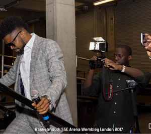 Photos from Basketmouth's February 14th show at Wembley Arena