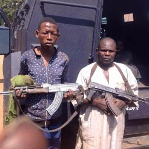 Photo: Armed Fulani Herdsmen Apprehended In Kaduna