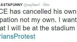 '2Face Has Cancelled His Own Participation Not My Own' – Seyi Law Insists Protest Will Go On