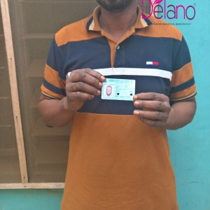 PHOTO: Man Who Specializes In Printing Fake Voters Cards Arrested In Lagos