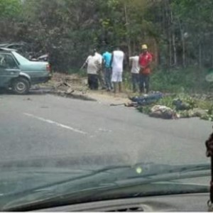All passengers including two corps members dead in an accident at Warri (graphic photos)