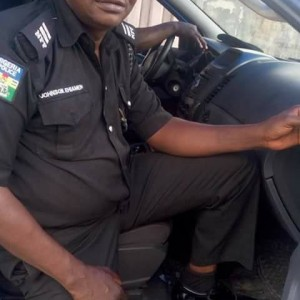 Photos Of A Policeman Killed by Fulani Herdsmen In Delta State