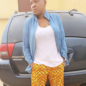 Toyin Aimakhu shows off completely bald look