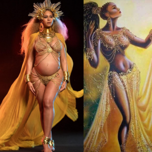 Beyoncé Channels Yoruba Goddess Oshun During Her 2017 Grammy Performance