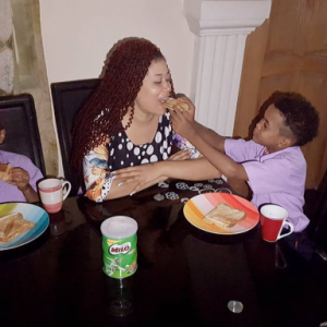 Checkout This Adorable Photo Of Adunni Ade And Her Boys