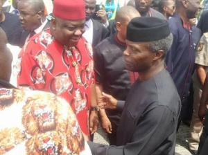 Photos: Vice President Yemi Osinbajo visits Imo state