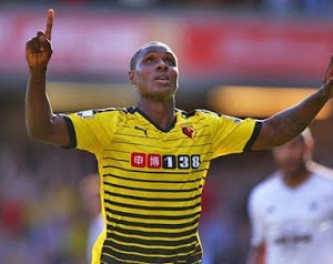 Odion Ighalo Joins Mikel Obi in Chinese Super League