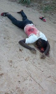 Notorious crime kingpin gunned down in Ahoada, Rivers State (graphic photos)