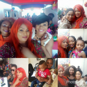 (Photos) Nollywood actresses attend Uche Nnanna's son's 2nd birthday party
