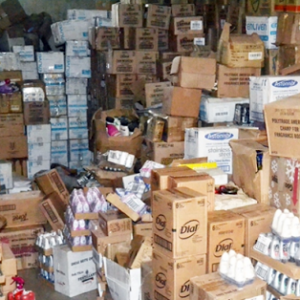 SON discovers twin four-storey buildings filled with expired products(Photo)