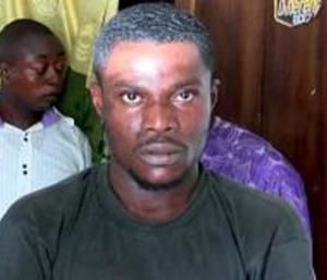 (Photo) Man who killed husband and wife after allegedly poisoning food at a restaurant arrested