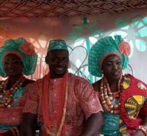 See photos from the wedding of man who married two wives in Delta