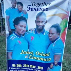 Man Allegedly Set to Marry Two Women at the Sametime in Delta State (Photo)