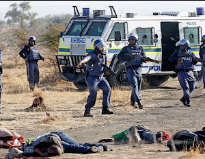 South Africa mining massacre victims offered £75m in damages