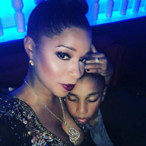 Swizz Beatz ex-wife shares photo of their 10 year old son laying on her butt