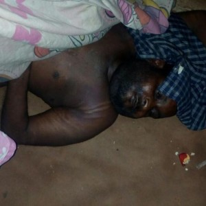 Nigerian Soldier Allegedly Beats Man to Death, Dumps His Corpse on the Street (Photos)