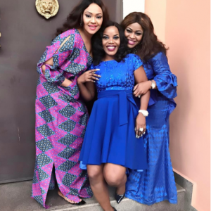 Empress Njamah shares lovely photos with Okocha's wife, Nkechi