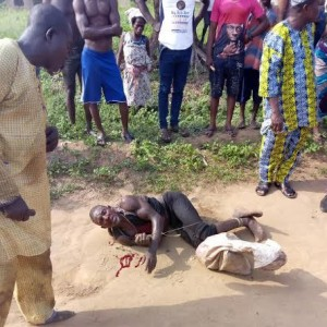 She came for spiritual cleansing-61 year old man caught with fresh woman's head in Lagos(GRAPHIC)