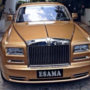 Top 5 Cars Spotted In Nigeria (photos)