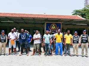 Photos: 26 Nigerians arrested by immigration police for living, working illegally in Cambodia
