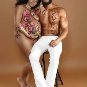 Creative or trashy- Checkout this couple's nude maternity shoot