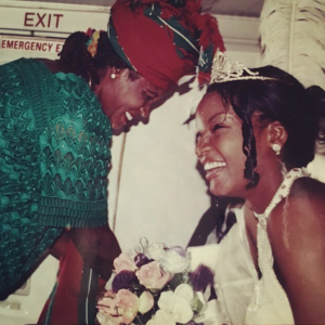 Omotola pays tribute to her late mother to celebrate Mothers day