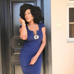Chika Ike Puts Cleavage On Display In Stunning New Photos